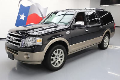 2013 Ford Expedition  2013 FORD EXPEDITION KING RANCH SUNROOF NAV DVD 62K MI #F33157 Texas Direct Auto