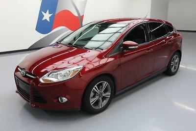 2014 Ford Focus SE Hatchback 4-Door 2014 FORD FOCUS SE AUTOMATIC CRUISE CTRL ALLOYS 39K MI #348512 Texas Direct Auto