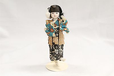 Japanese Dancing Girl Doll With Mask