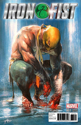 IRON FIST #1 Gabriele Dell'Otto Colour Variant Cover Marvel Comics 1st Print NM