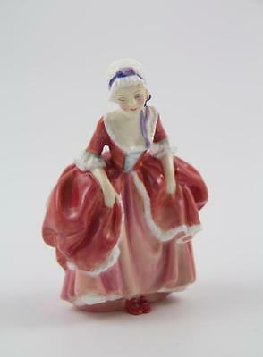 Vintage Royal Doulton Goody Two Shoes Lady in Pink Dress Figurine HN 2037