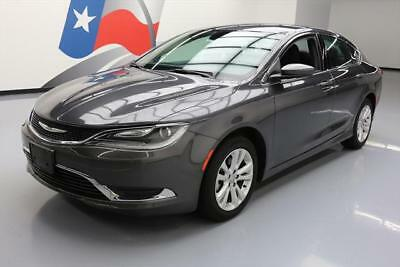 2016 Chrysler 200 Series  2016 CHRYSLER 200 LIMITED REAR CAM BLUETOOTH 31K MILES #141473 Texas Direct Auto