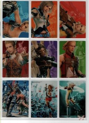 Final Fantasy 12 XII FF12 Art Museum Premium Complete 27 Potion Trading Card Set