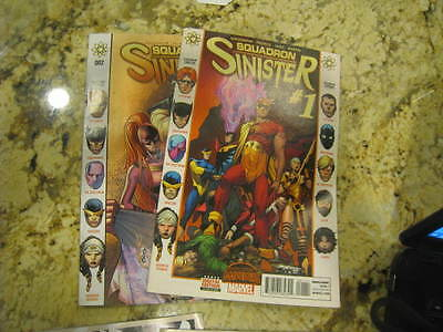 SQUADRON SINISTER (2015 Series) #1 and #2  comics