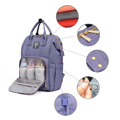 Large Capacity Mummy Bag Nappy Diaper Baby Maternity Nursing Bag Travel Backpack