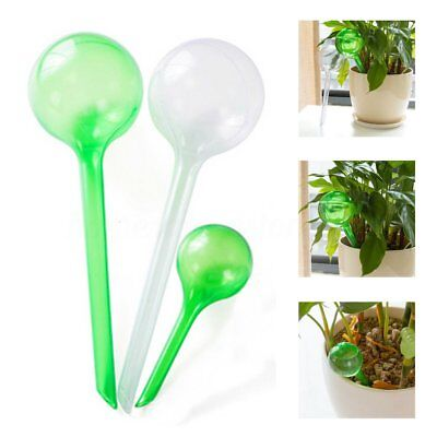 10x Self Watering Plant Bulb Plastic Water Feeder Globe Indoor Outdoor Automatic