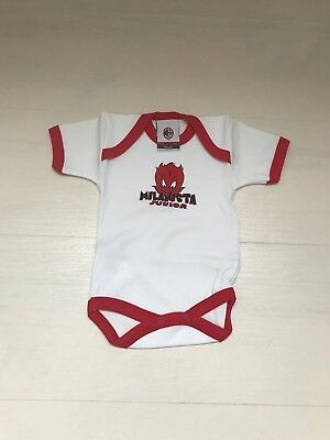 3347 ROMA BABY NEONATO BODY COTONE MANICA LUNGA INFANT OFFICIAL WEAR A461