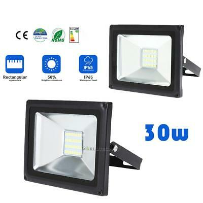 30W LED Flood Light Rideau mural extérieur Plaza Garden Stadium projecteur lampe