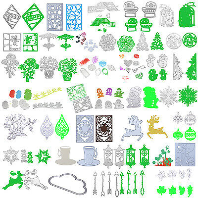 36Type Metal Cutting Dies Stencil Scrapbook Paper Card Craft Embossing DIY Decor