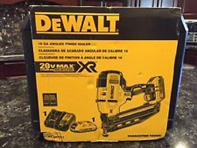 New Dewalt Dcn660D1 20V Max Cordless 16Ga 20 Deg Angled Finish Nailer Kit Sale