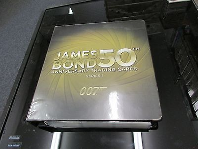 2012 James Bond 50th Anniversary Series 1 Complete Master Set with Parallels