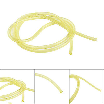 3mm*5mm Yellow Smooth Fuel Tube Petrol Diesel Oil Line Hose For Blowers Strimmer