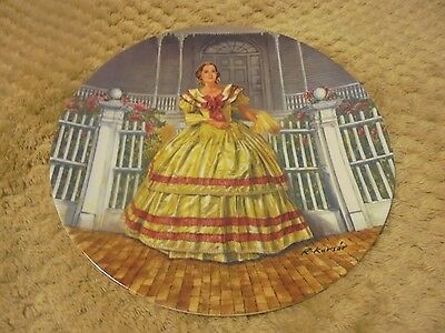 "Knowles Plate in The Gone with the Wind Collection ""Melanie"" Beautiful Condition"