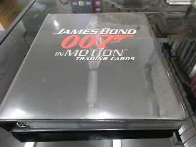 2008 James Bond In Motion Complete Master Set Rittenhouse Archives