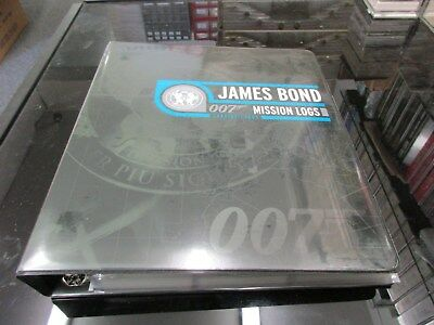 2011 James Bond Mission Logs Complete Master Set - Rittenhouse Archives