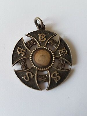 Antique Sterling Silver Fob