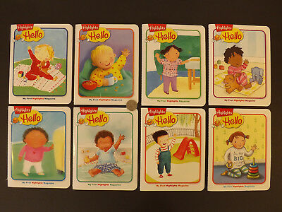 "Lot Of 8 Brand New  ""highlights Hello"" (My 1St Highlights Magazine)"
