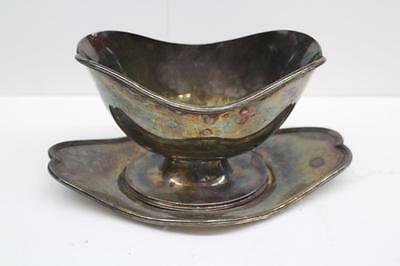 Barbour 5135 gravy dish with tray International S. co