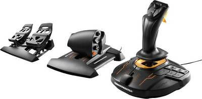 Flugsimulator-Joystick Thrustmaster T16000M FCS Flight Pack USB PC Schwarz inkl.
