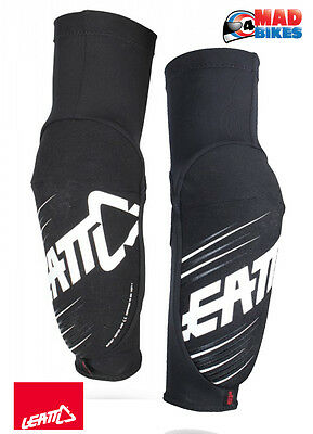 LEATT 3DF 5.0 Adult Elbow Guards MX, Trials, Enduro, Motocross, MTB, BMX, Black