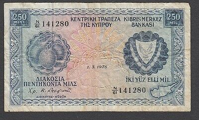 250 Mils From Cyprus 1978 A1