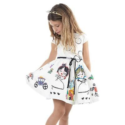 Baby Kid Girls Princess Cartoon Dress Wedding Party Pageant Dress With Belt 90