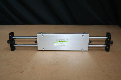 Linear positioner Pneumatic 150mm stroke Slide Miller/CKD Unused