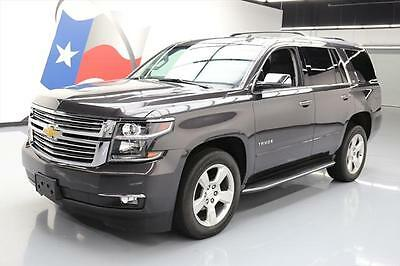 2015 Chevrolet Tahoe LTZ Sport Utility 4-Door 2015 CHEVY TAHOE LTZ 4X4 LEATHER SUNROOF NAV DVD 41K MI #124252 Texas Direct