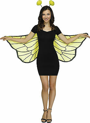 Adult Bumble Bee Soft Wing Set Costume Accessory