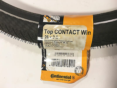 Continental Top Contact Winter bicycle tire 26 X 2.2 NEW