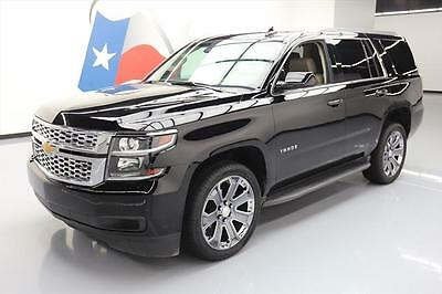 2017 Chevrolet Tahoe LT Sport Utility 4-Door 2017 CHEVY TAHOE LT 8-PASS HTD LEATHER NAV 22'S 16K MI #122424 Texas Direct Auto