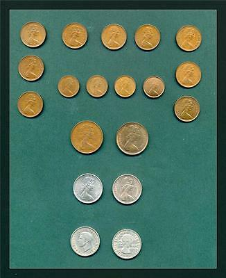 Great Britain.  Collection Of 28 Coins. (Cx205/7)