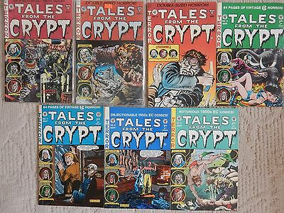 EC Anthology Reprints TALES FROM THE CRYPT 7 ISSUE LOT #1,3,4,5,7,9,24