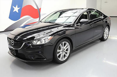 2015 Mazda Mazda6  2015 MAZDA MAZDA6 I TOURING 6SPD HTD SEATS REAR CAM 78K #176765 Texas Direct