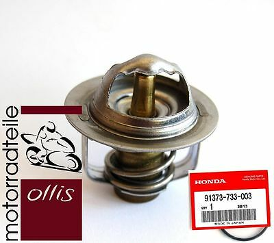 Original Honda Thermostat + O-Ring Dichtung / genuine thermostat + o-ring c case
