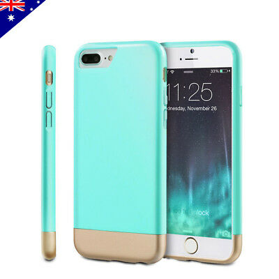 Slim Hybrid Heavy Duty Armor Hard Case Cover Protective For iPhone 8 7 6s Plus