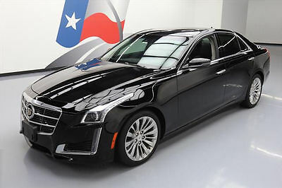 2014 Cadillac CTS Luxury Sedan 4-Door 2014 CADILLAC CTS 3.6 LUX PANO SUNROOF NAV REAR CAM 27K #168290 Texas Direct