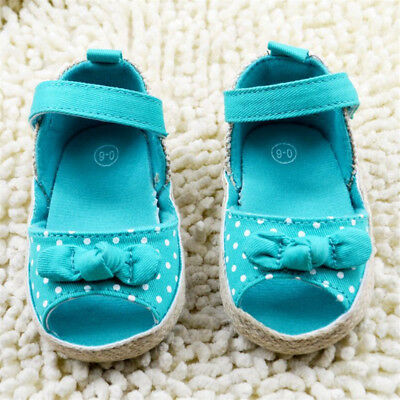 Toddler Baby Girls Sandals Crib Shoes Casual Shoes Size 0-6 Months