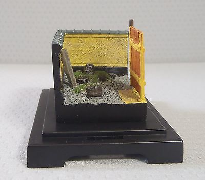 Japanese miniature diorama Chiekoin Temple with plastic case made in Japan 2 u