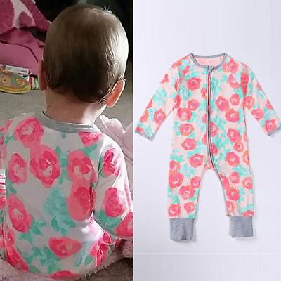Baby Kids Boy Girl Infant Romper Jumpsuit Bodysuit Cotton Clothes Outfit 70 US
