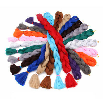 "41"" Synthetic Crochet Hair Jumbo Twist Braids For Updo Braiding Hair Extensions"