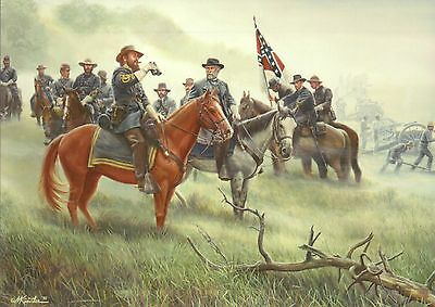 Robert E. Lee, Old War Horse Battle of Gettysburg PA Military Civil War Postcard