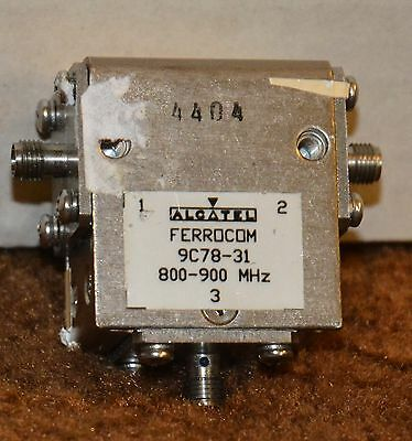 RFS Ferrocom UHF Isolator Model 9C78-31 800-900 Mhz 175 Watts SMA Female