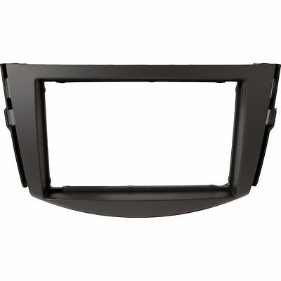 DFP-11-07 Car CD Stereo Double Din Fascia Panel Adaptor For Toyota Rav 4 2006>