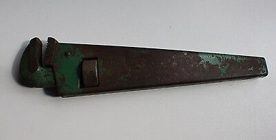 Vintage Fabrex 440-14 Pipe Wrench Good Used Condition