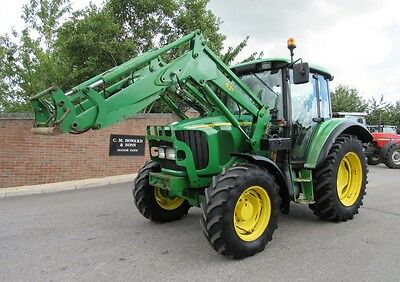 John Deere 6120Se Tractor Fitted With Jd 631 Loader Low Hours