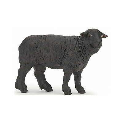 Papo 51167 Black Sheep Model Farm Animal Figurine Toy Gift 2017 - NIP