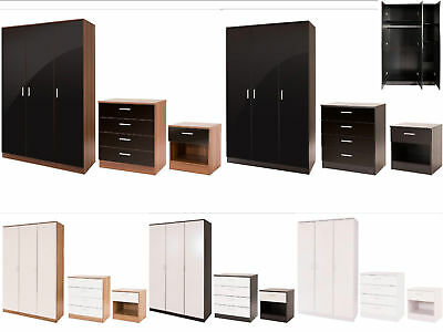 Ottawa Caspian High Gloss Kids Bedroom Furniture - Full Range - All Colours