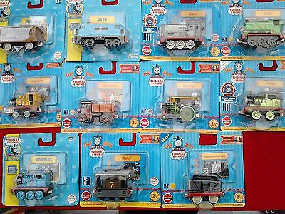 """Thomas The Tank Engine & Friends Take """"n"""" Play Diecast Magnetic Trains."""