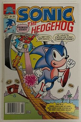 SONIC THE HEDGEHOG #0 - 1993 - Archie - 1st appearance - VF/NM